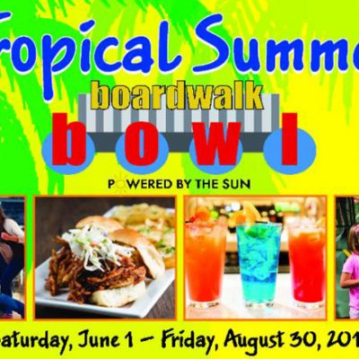 Aloma Bowling Centers Introduces Tropical Summer Discounts and Sweepstakes