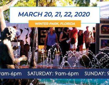 Winter Park Sidewalk Art Festival 2020