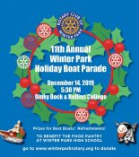 Winter Park Holiday Boat Parade