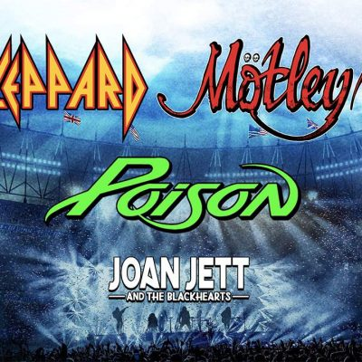 Mötley Crüe, Def Leppard, Poison and Joan Jett coming to Orlando