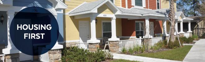 Housing First Homeless Assistance