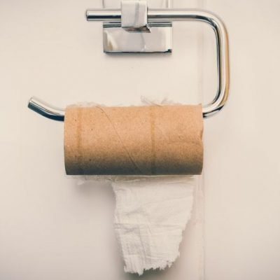 Don't Panic! Here's What To Do If You Run Out Of Toilet Paper Paper