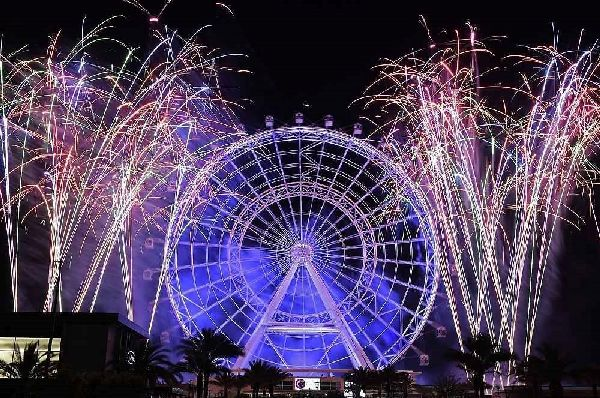 Top Firework shows for the New Year