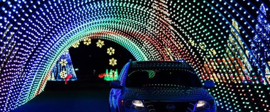 Drive through Light shows Are in Orlando