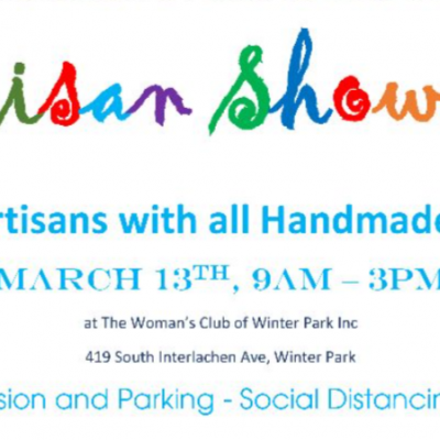 Women's Club Of Winter Park Artisan Showcase