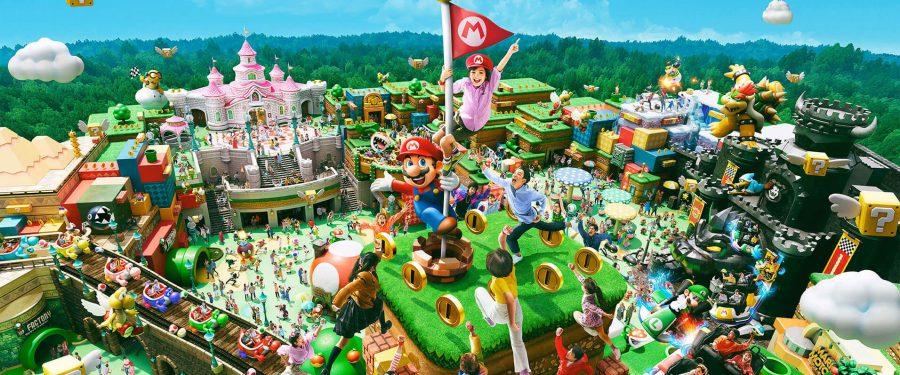 Super Nintendo World Theme Park Coming To Orlando 2025
