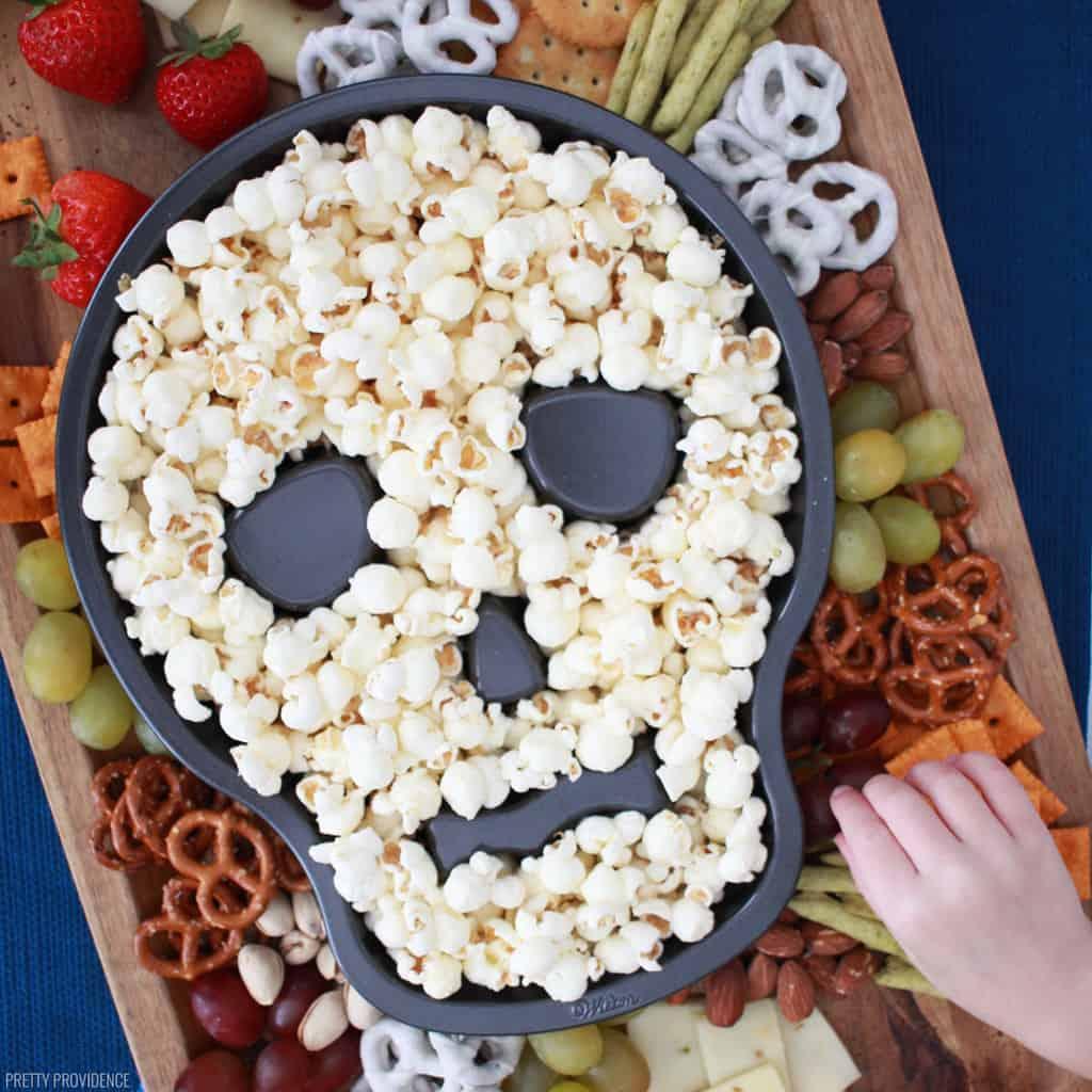 Children's easy Halloween snacks